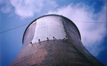 工业冷却塔防腐