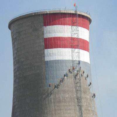 混凝土冷却塔防腐