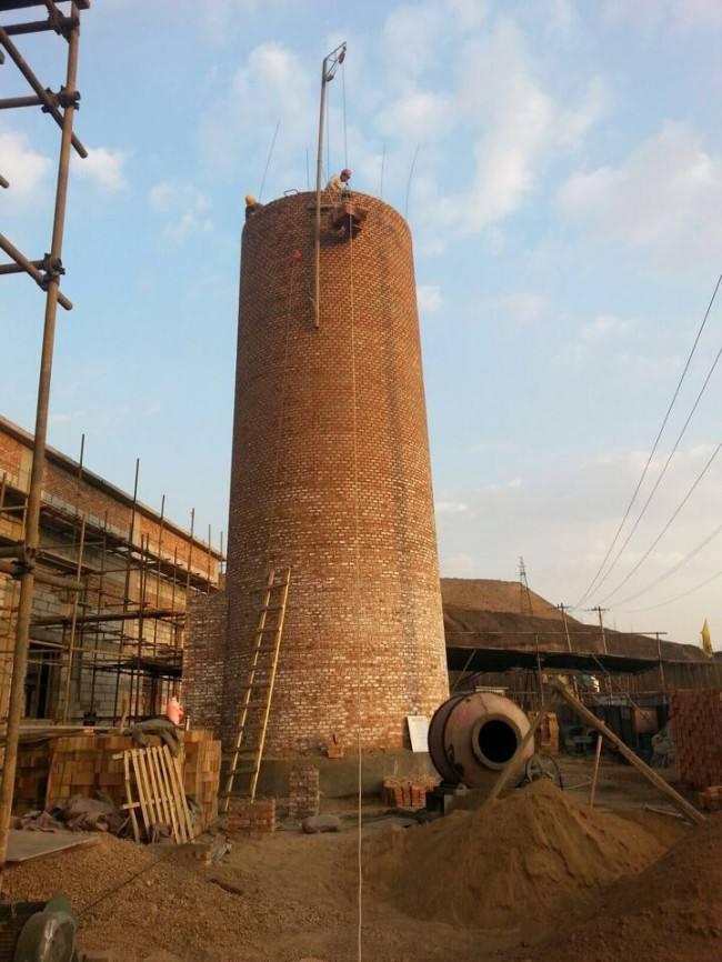 30米新建烟囱