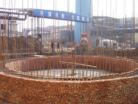 50米新建烟囱