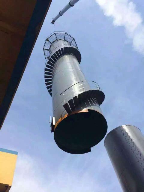 钢烟囱防腐改造