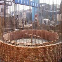 砌筑新建烟囱