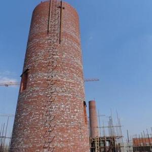 电厂新建砖烟囱
