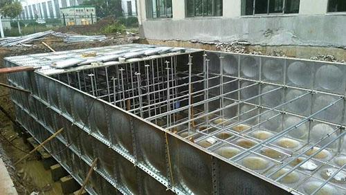 无焊接水箱