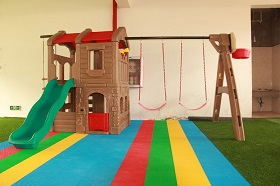 【图】儿童大型组合滑梯之亲子项目 儿童乐园的装修要注意什么