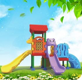 儿童乐园滑梯