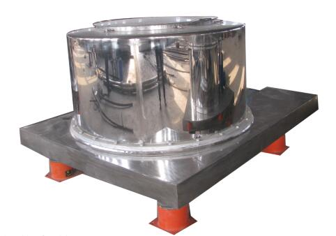 PS series flat top unloading variable frequency speed regulating centrifuge