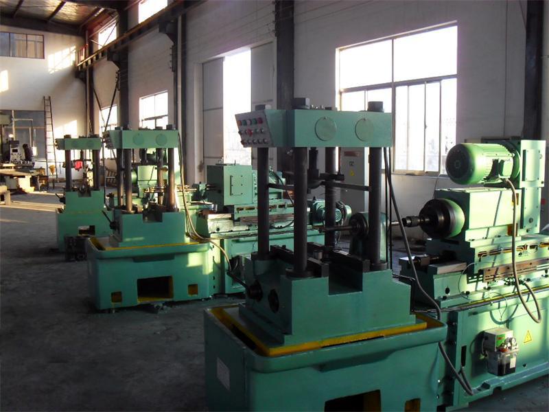 柴油機機體部分生産線