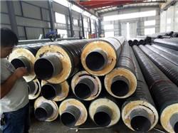 钢套钢蒸汽预制保温管