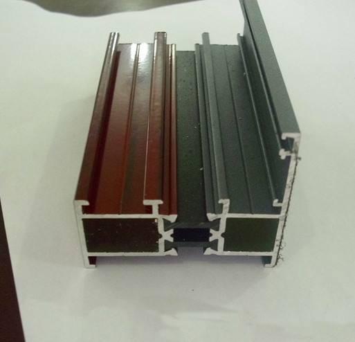 木纹断桥铝型材