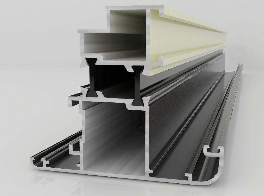 新型断桥铝型材