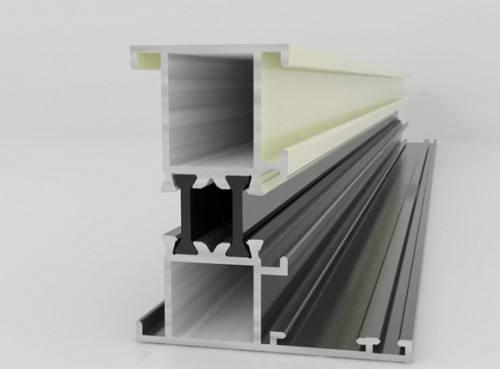 隔音断桥铝型材
