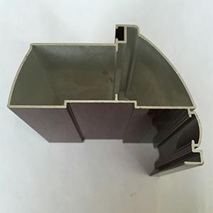 壁柜铝型材安装
