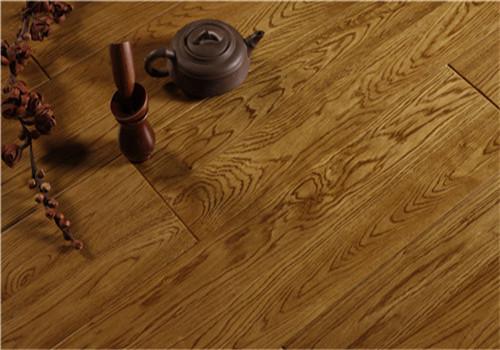 实木地板铺设