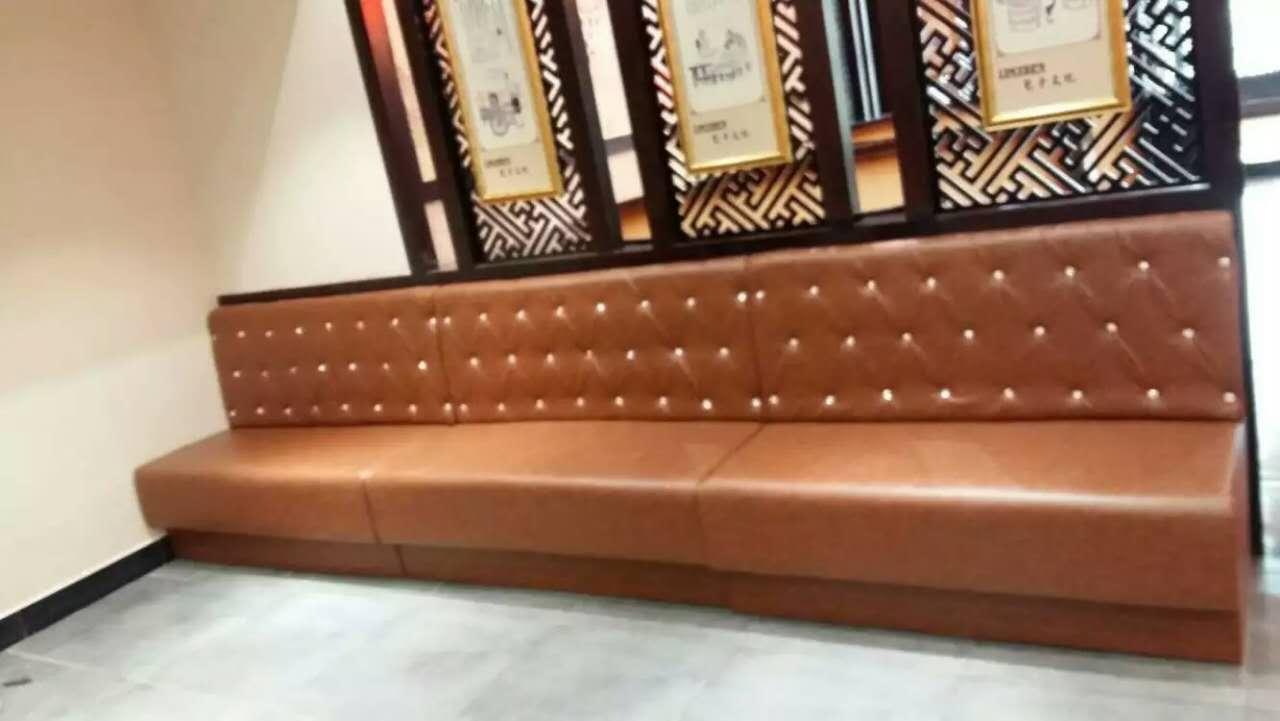 武昌餐厅卡座沙发