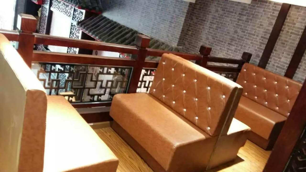 汉阳餐厅卡座沙发定做