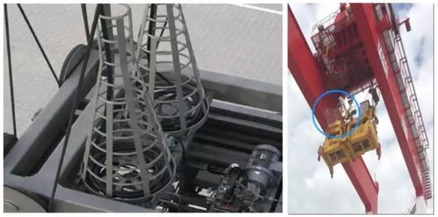 港口机械吊装用蓄缆筐电缆