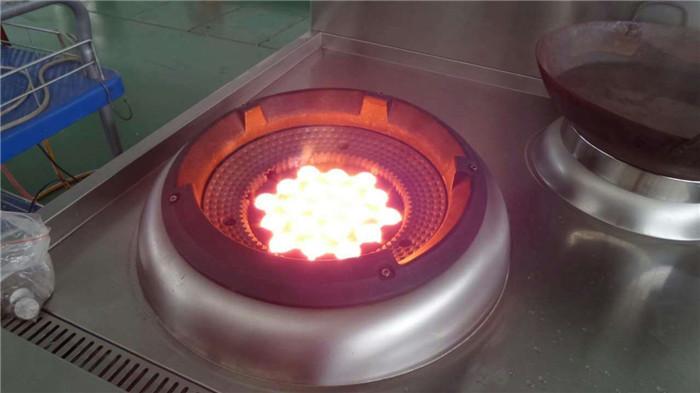 成都红外线节能灶燃烧形态
