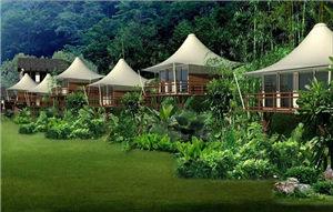 移动篷房酒店设计