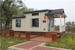 单层木质别墅建造公司