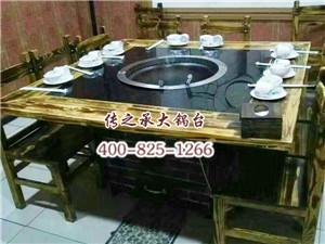 方形大锅台