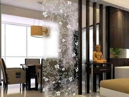 保定艺术玻璃隔断厂家