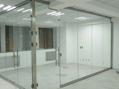 雄县玻璃隔断安装