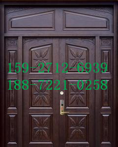 威利斯人钢木装甲门