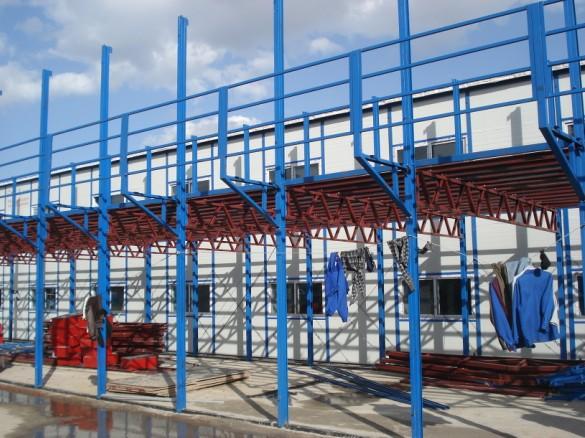 彩钢活动板房系列