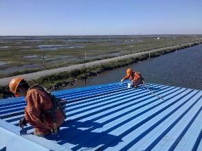 彩钢防水工程