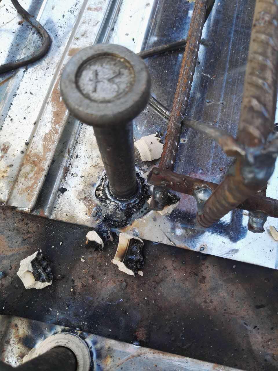 剪刀钉焊接