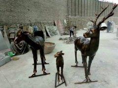 农耕文化雕塑