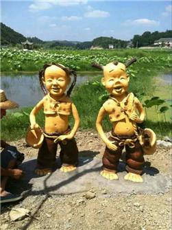 贵州卡通雕塑
