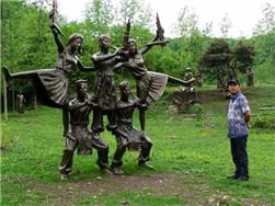 贵州圆雕雕塑