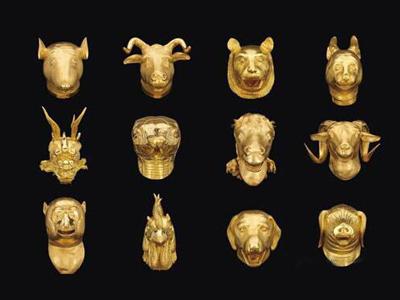 铜仁12生肖雕塑欣赏