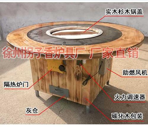 圆形单锅烘