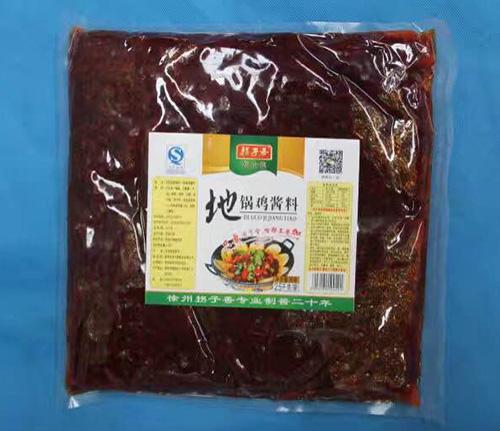 地锅鸡酱料