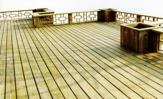 防腐木地板批发
