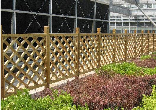 兴义防腐木栏杆