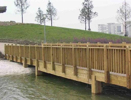 贵州防腐木护栏