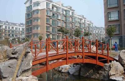 六盘水防腐木桥梁
