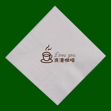 浪漫咖啡餐巾纸