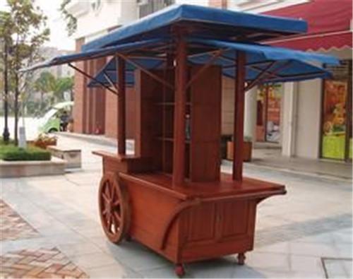 贵州防腐木售货亭