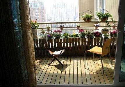 贵州防腐木阳台