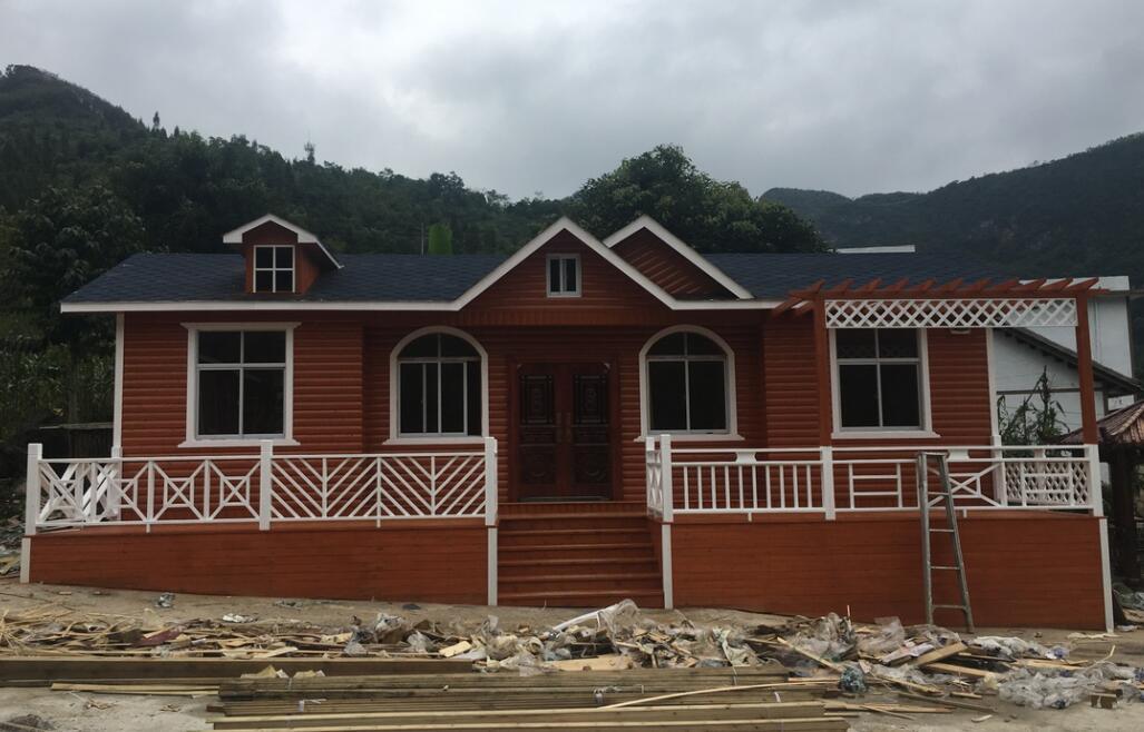宣威木质别墅