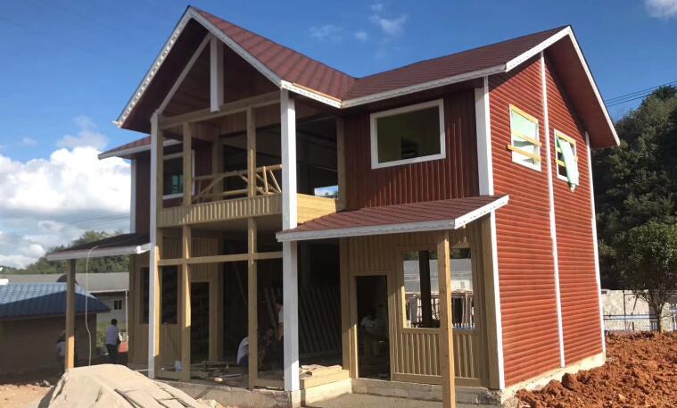 陆良防腐木木屋