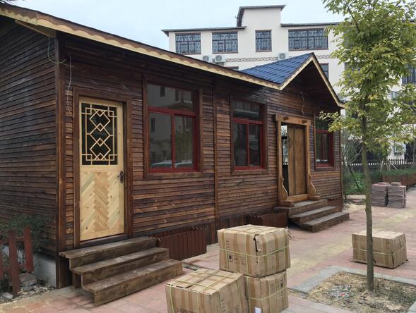 马龙防腐木木屋