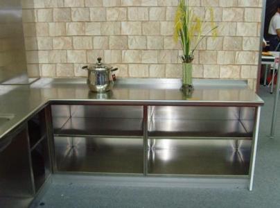 【图文】不锈钢橱柜定做_不锈钢橱柜优点