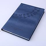 记事本厂家定制B5商务办公文具 高档活页笔记本本子定做带