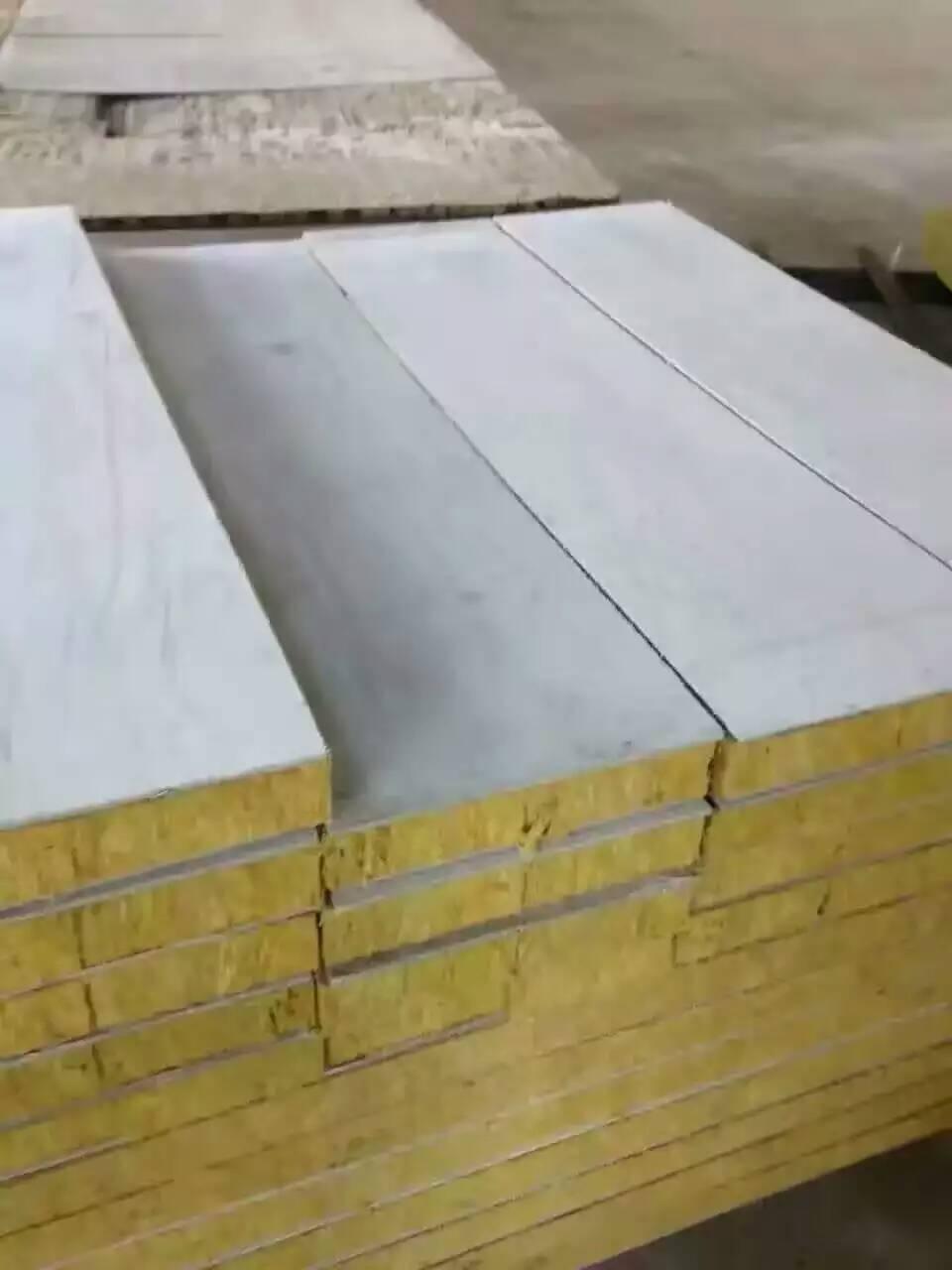 蘄春岩棉彩鋼板廠家